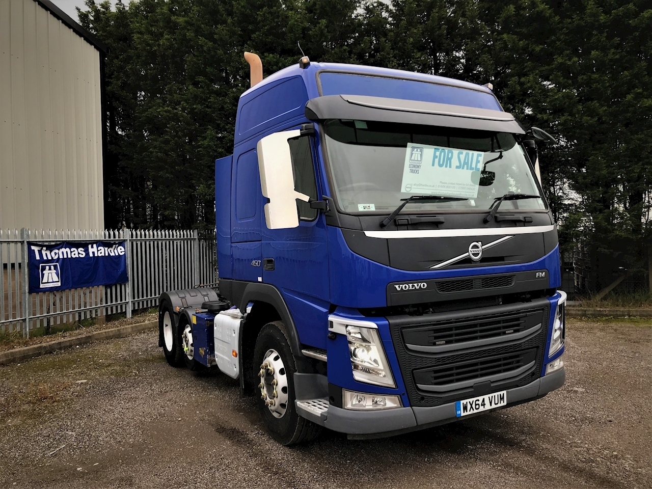 Volvo Fm Fm450 6X2t Epa Hslp 10.8 2dr Tractor (Heavy Haulage) Manual Diesel