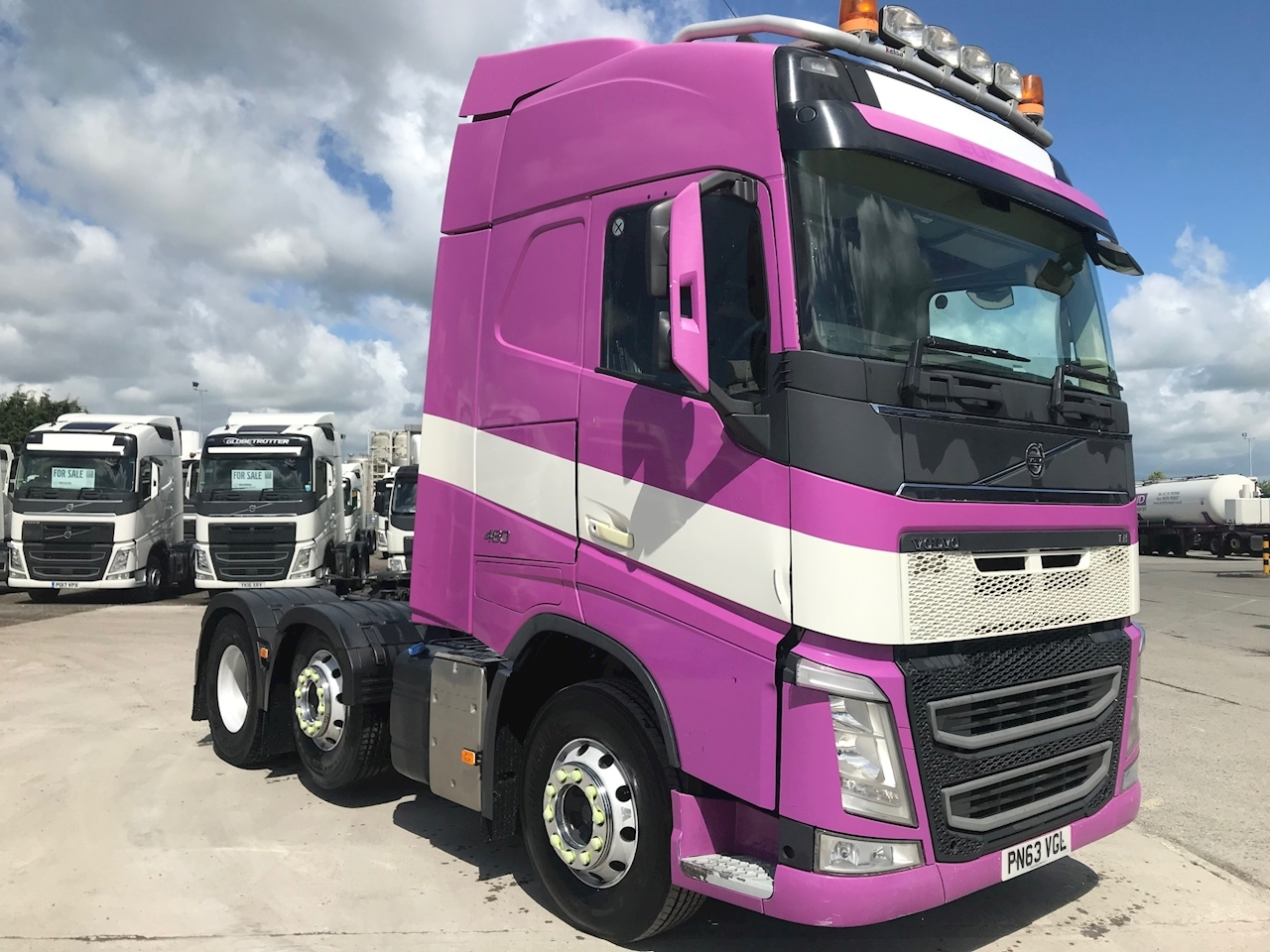 Volvo Fh FH 460 6x2 GT 12.8 Tractor (Heavy Haulage) Manual Diesel