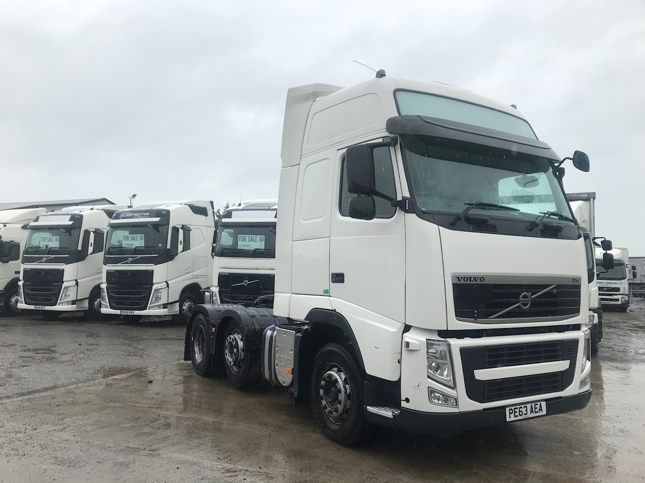 Volvo Fh FH 460 6X2 GTXL 12.8 2dr Tractor (Heavy Haulage) I-Shift Diesel