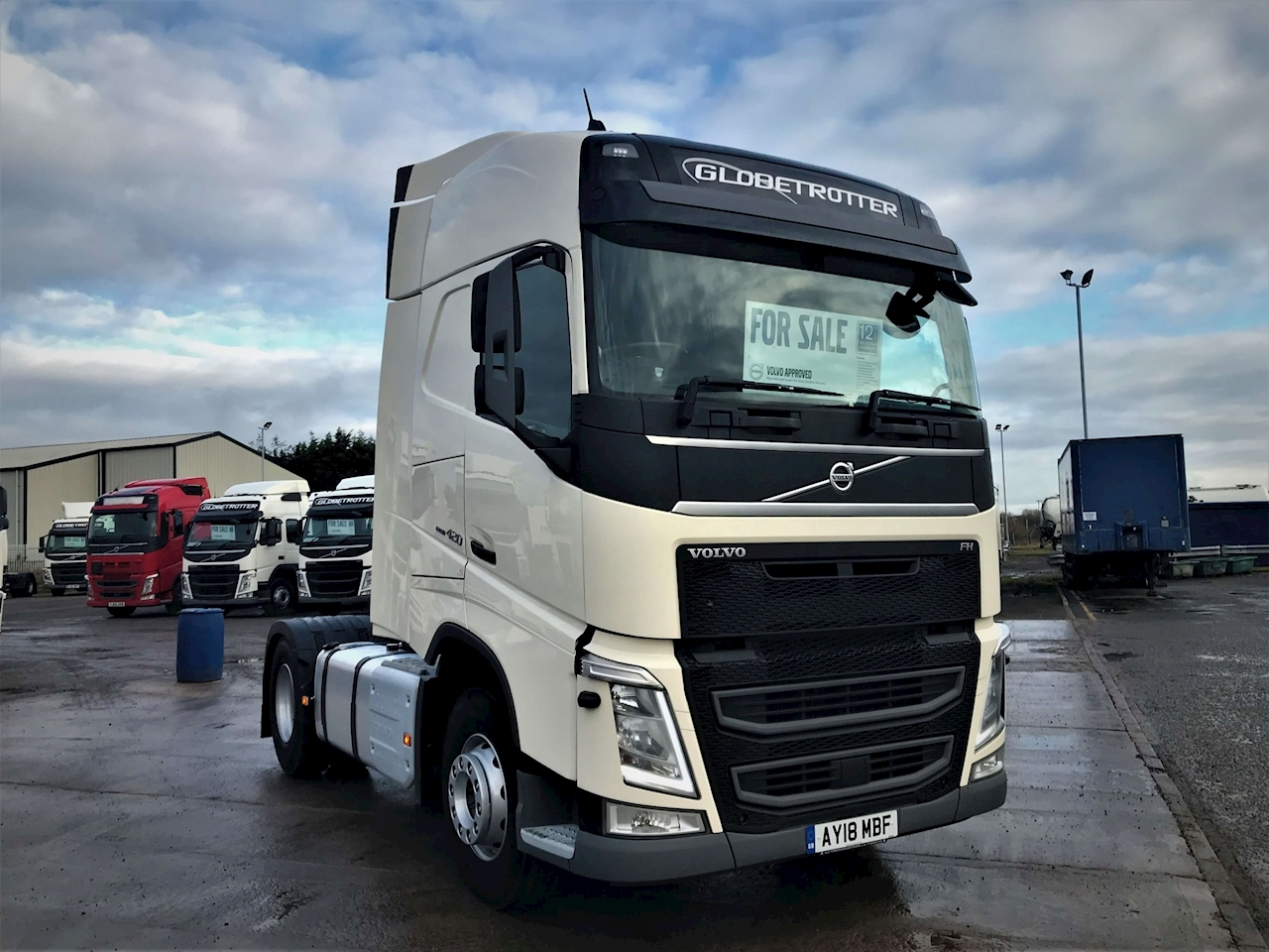Volvo FH 420 4x2 Globetrotter 12.8 2dr Tractor Unit I-Shift Diesel