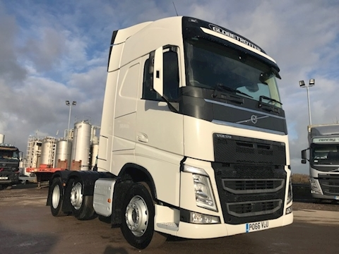 FH4 FH13 500Bhp 6x2 Globetrotter 12.8 2dr Tractor (Heavy Haulage) I-Shift Diesel