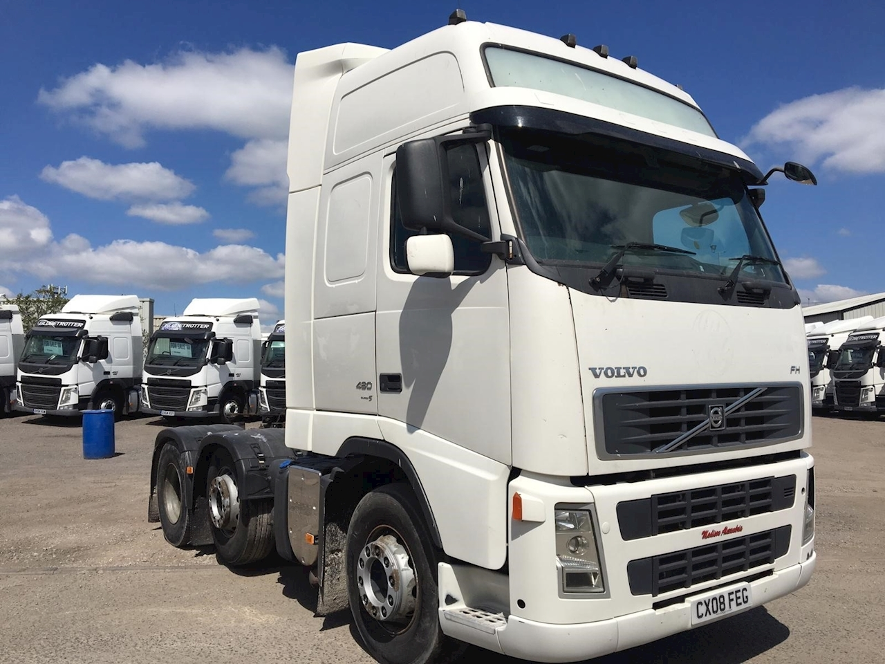 Volvo Fh Fh480 6X2 L2h3 Hrs E5 Ex Gorry 12.8 2dr Tractor (Heavy Haulage) I-Shift Diesel