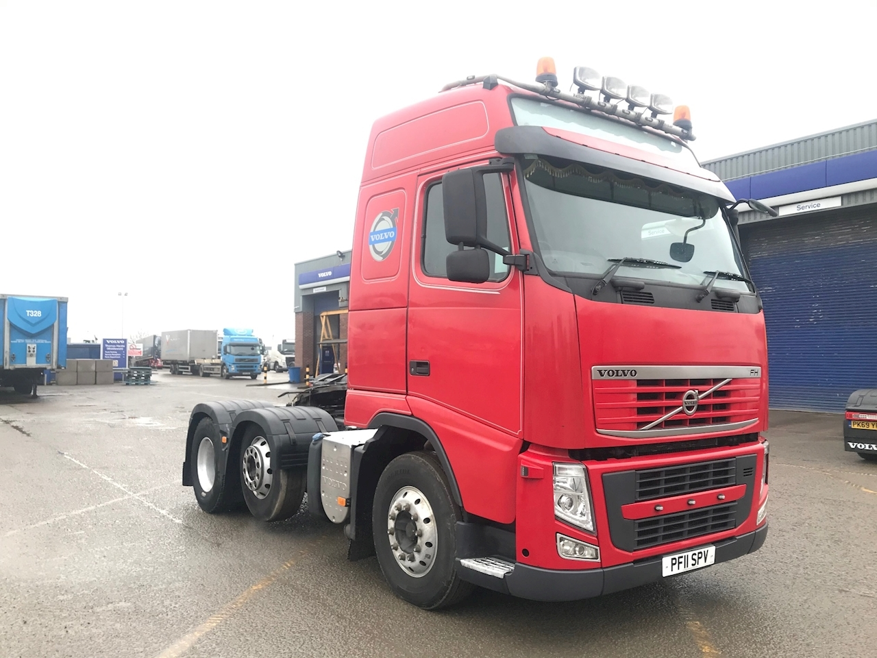 Volvo Fh Fh460 6X2t Pa L2h2 12.8 2dr Tractor (Heavy Haulage) I -S Diesel