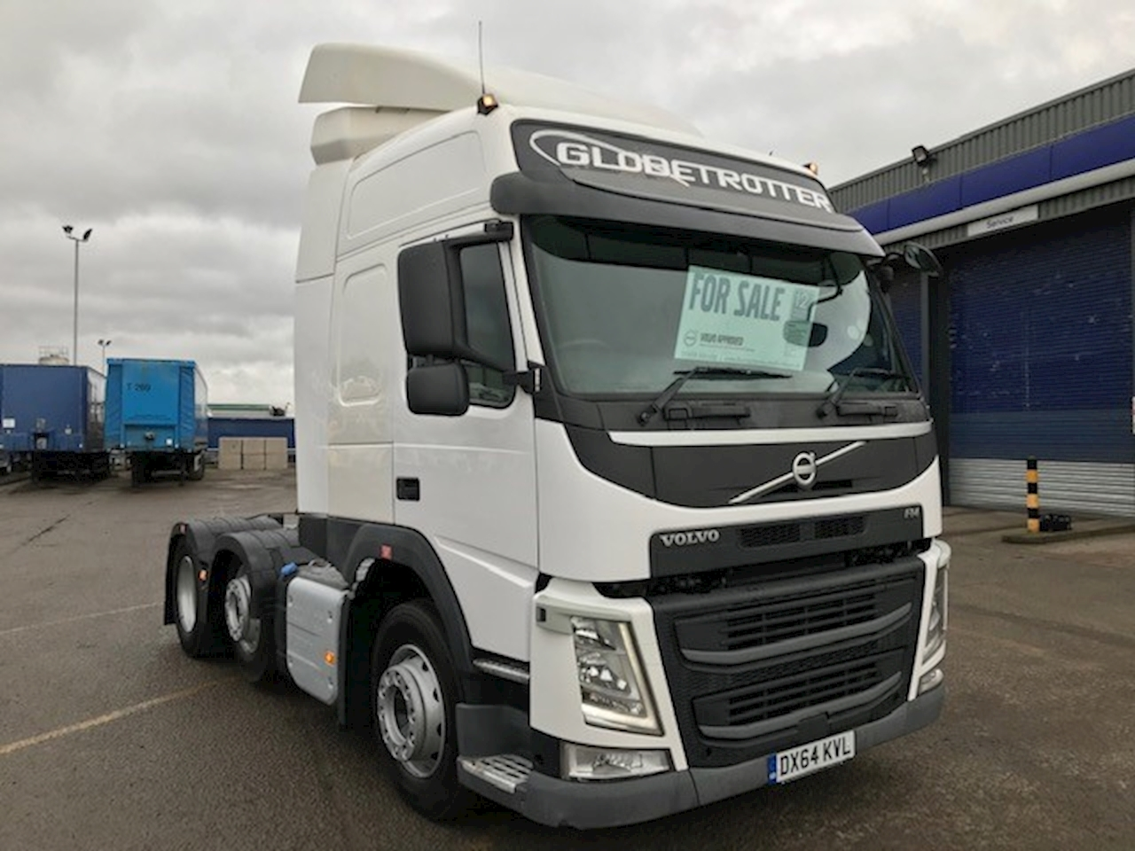 Volvo Fm Fm450 6X2t Pa Hslp 10.8 2dr Tractor (Heavy Haulage) I-Shift Diesel