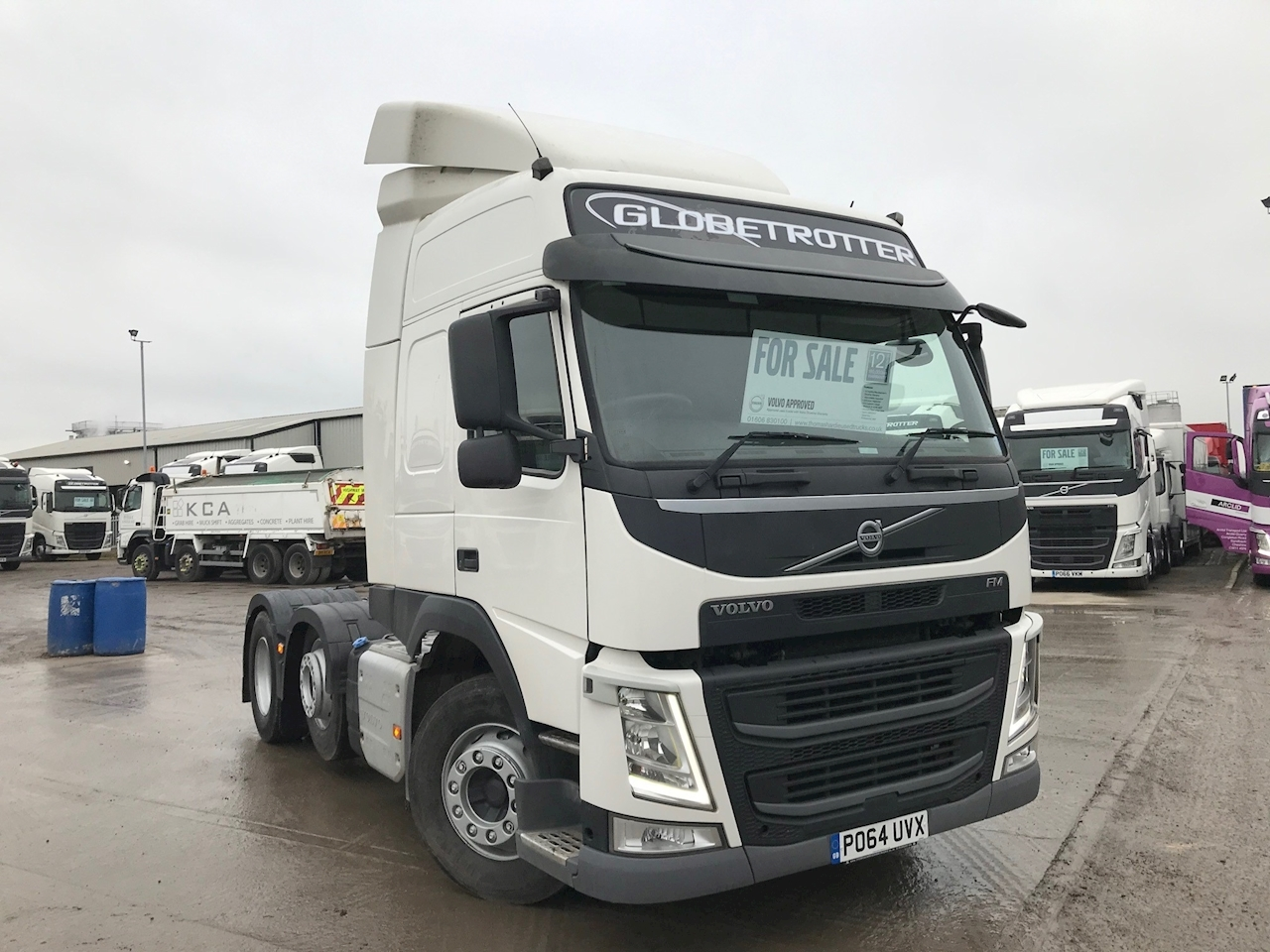 Volvo Fm Fm450 6X2t Pa Hslp 10.8 2dr Tractor (Heavy Haulage) Manual Diesel