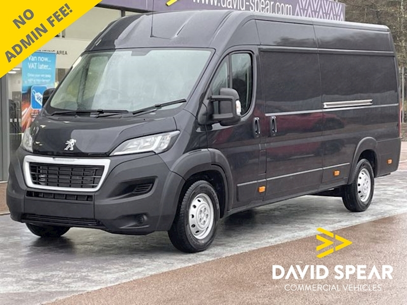 Peugeot Boxer HDI 140ps Professional L4 H2 Xlwb with Sat Nav & Air Con 2.2 5dr Panel Van Manual Diesel