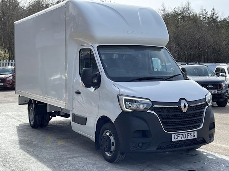 Renault Master DCI 145ps LLT35 TW Business Luton Box Van With Twin Wheels & Del Miles Only 2.3 2dr Luton Manual Diesel
