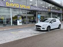 Ford Fiesta EcoBoost 125ps 1.0 Ltr Sport 6 Speed With Air Con & Alloys 1.0 3dr Panel Van Manual Petrol