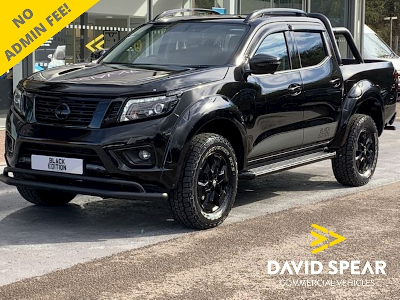 Nissan Navara Dci 190ps Black Edition Tekna 4x4 Dcb Pick Up with Sat Nav & Rev Cam 2.3 4dr Pickup Automatic Diesel