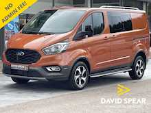 Ford Transit Custom TDCI 170ps 5 Seat DCIV Crew Van Active L1 H1 320 With Air Con & Alloys IN STOCK 2.0 6dr Combi Van Manual Diesel