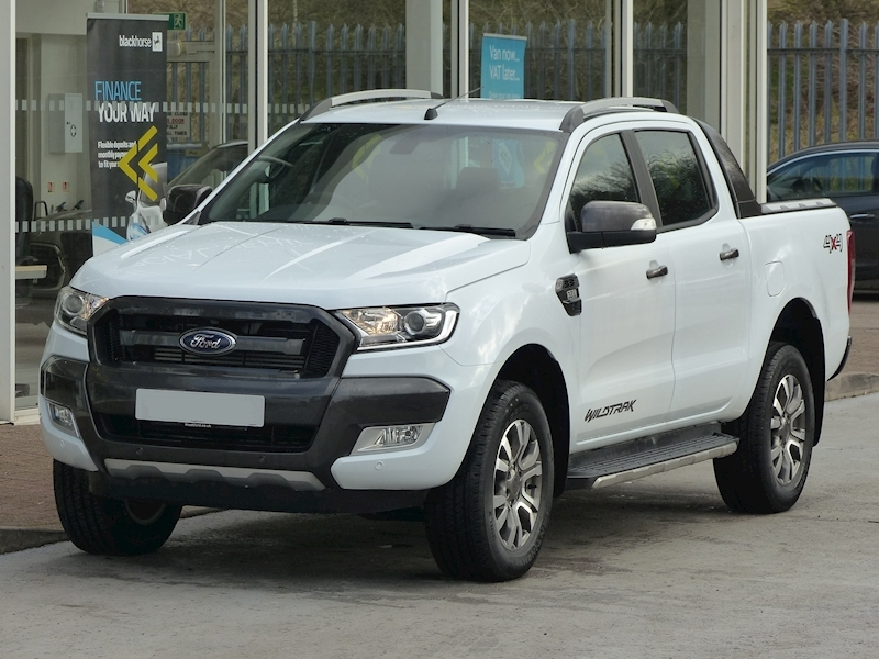 Ranger TDCi 200ps Wildtrak 4X4 Double Cab Pick Up 3.2 Pickup Automatic Diesel