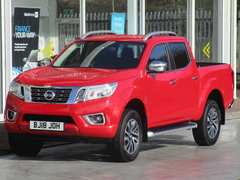 Nissan Navara Dci 190psTekna 4x4 Double Cab Pick Up 2.5 4dr Pickup Automatic Diesel