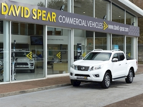 Navara Dci 190ps Tekna 4X4 Double Cab Pick Up Alabaster White 2.3 5dr Pickup Automatic Diesel