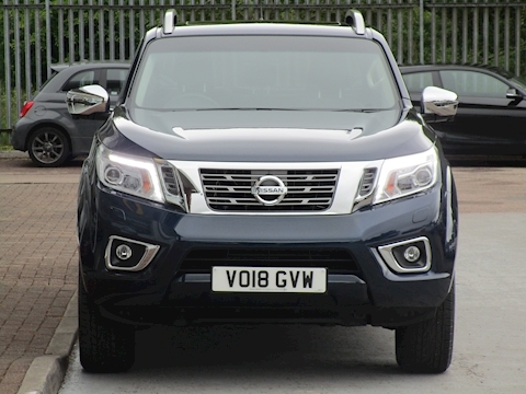 Navara Dci 190ps Tekna 4X4 Double Cab Pick Up With Sunroof & Tow Bar 2.3 4dr Pickup Automatic Diesel