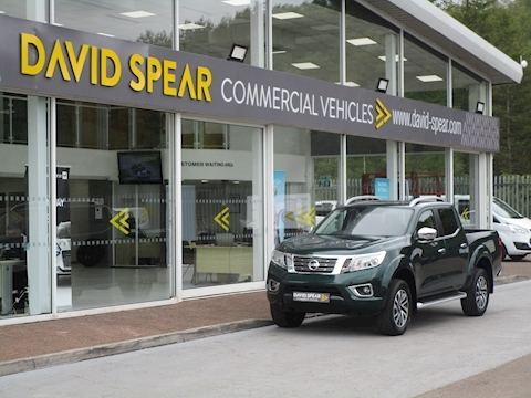 Navara Dci 190ps Tekna 4X4 Double Cab Pick up  in Amazon Green 2.3 5dr Pickup Manual Diesel