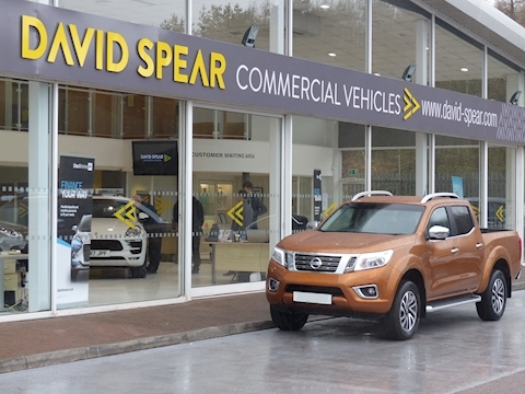 Navara Dci Tekna Double Cab Pick Up Automatic In Savannah Yellow with Rev Cam & Sat Nav 2.3 5dr Pickup Automatic Diesel