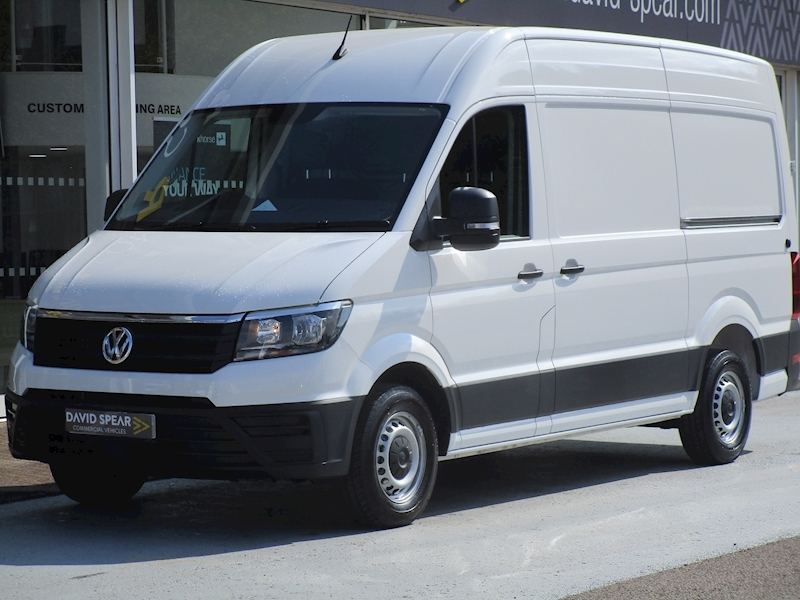 Crafter Tdi 140ps CR35 Trendline L3H3 Mwb with Air Con and F & R Parking Sensors 2.2 5dr Panel Van Manual Diesel
