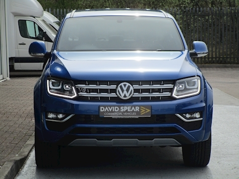 Amarok V6 Tdi 258ps Aventura 4Motion 4x4 Double Cab Pick up with Sat Nav & Rev Cam 3.0 4dr Pickup Automatic Diesel