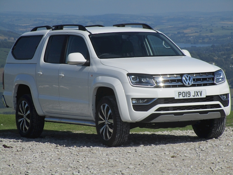 Volkswagen Amarok Tdi 200ps V6 Highline 4Motion Doube Cab Pick Up with Aventura Alloy Wheel Upgrade & Canopy 3.0 4dr Pickup Automatic Diesel