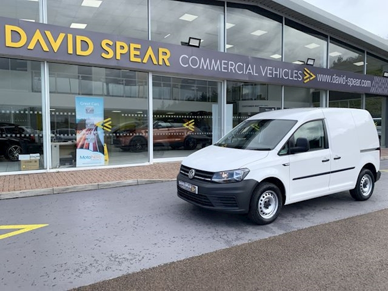 Volkswagen Caddy Tdi 102ps C20 Startline With Air Con & Rear Parking Sensors 1.6 5dr Panel Van Manual Diesel