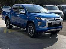 Mitsubishi L200 Di-D 180ps 4WD Barbarian X 4x4 Dcb Pick up with Rev Cam & Del Miles Only 2.2 5dr Pickup Automatic Diesel
