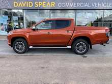 Mitsubishi L200 Di-D 4Wd Barbarian 4x4 Dcb Pickup with Rev Cam, Leather & Del Miles 2.4 5dr Pickup Automatic Diesel