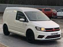 "Volkswagen Caddy TDI ""GTI Sport Pack "" Trendline with Air Con & Del Miles Only 2.0 5dr Panel Van Manual Diesel"