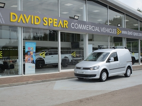 Caddy Tdi 102ps C20 Trendline Swb Panel Van with Roof Bars 1.6 5dr Panel Van Manual Diesel