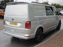 "Volkswagen Transporter Tdi 150ps T32 Highline 6 Seat Crew Kombi L2 Lwb With Air Con, Sportline Body Kit & 20"" Alloy Wheels 2.0 5dr Combi Van Manual Diesel"