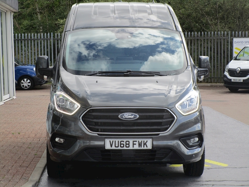 Ford Transit Custom TDCi 130ps 300 Limited L1 H2 Swb High Roof With Sat Nav & Rev Cam 2.0 5dr Panel Van Manual Diesel