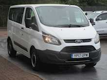 Ford Transit Custom Tdci 105ps 310 L1 Swb Kombi 9 Seater Minibus With Air Con & Only 7k Miles 2.0 5dr Minibus Manual Diesel