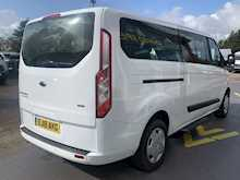 Ford Tourneo Custom Tdci 130ps 320 L2 Lwb 9 Seater Minibus With Sat Nav & Air-Con, With Rev Camera 2.0 5dr Minibus Manual Diesel