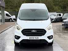 Ford Transit Custom Tdci 170ps 340 Trend  L2 H2 High Roof Lwb With Sat-Nav, Rev Cam & Air Con 2.0 5dr Panel Van Manual Diesel