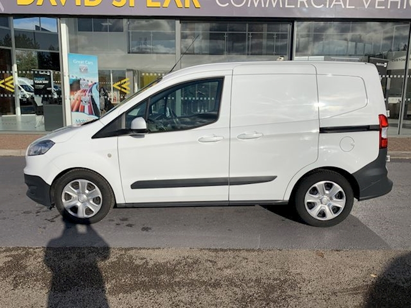 Ford Transit Courier Tdci 95ps Trend With Side Door & Ply Lining 1.5 5dr Panel Van Manual Diesel