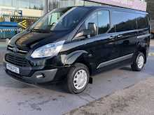 Ford Transit Custom Tdci 125ps 290 Trend Swb L1 With F+R Parking Sensors & Cruise Control 2.2 5dr Panel Van Manual Diesel