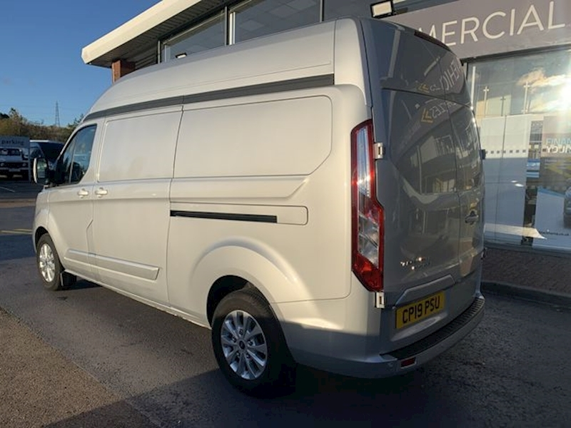"Ford Transit Custom Tdci 130ps 300 Limited L2H2 Lwb High Roof With Air Con & 16"" Alloys 2.0 5dr Panel Van Manual Diesel"