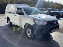 Toyota Hilux D-4D 150ps Active 4Wd Single Cab Pick Up With Air Con, Canopy & Tow Bar 2.4 2dr Pickup Manual Diesel