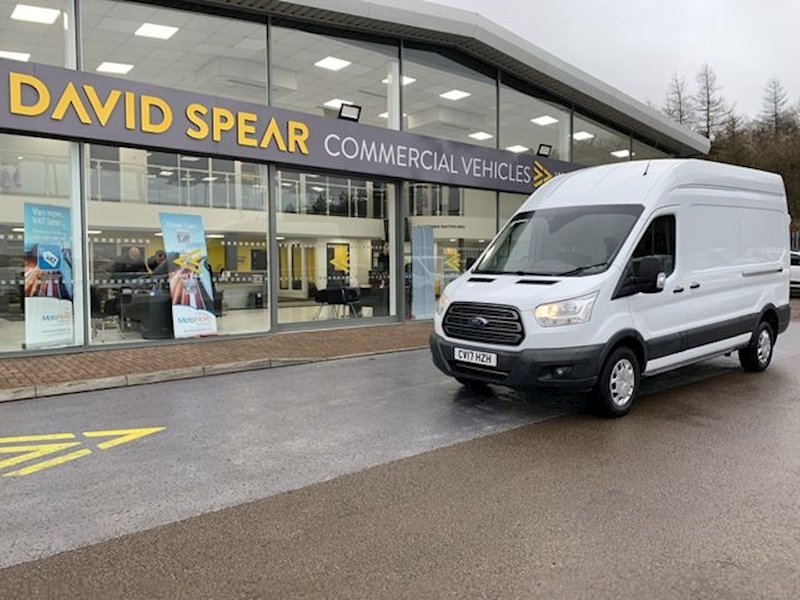 Ford Transit Tdci 130ps 350 Lwb High Roof  L3 H3 With F+R Parking Sensors & Cruise Control 2.0 5dr Panel Van Manual Diesel