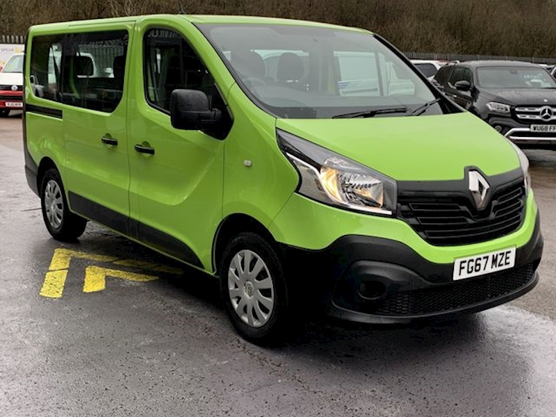 Renault Trafic Dci 95ps Sl27 Business Energy L1 Swb 9 Seat Minibus with Tailgate & Twin Doors 1.6 5dr Minibus Manual Diesel