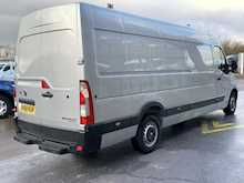 Vauxhall Movano Cdti 145ps R3500 L4H2 Xlwb Jumbo with Rear Parking Sensors 2.3 5dr Panel Van Manual Diesel