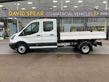 Ford Transit Tdci 130ps 350 7 Seat Double Cab 9ft 2.7m Tipper Wih Twin Rear Wheels & Tow Bar 2.0 4dr Tipper Manual Diesel