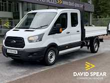 Ford Transit TDCI 130ps 350 7 Seat Double Cab Tipper With Only 3k Miles & Air Con 2.0 4dr Tipper Manual Diesel