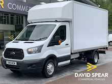 Ford Transit TDCI 130ps 350 Lwb Luton With Tail Lift, Air Con & Twin Rear Wheels 2.0 2dr Luton Manual Diesel