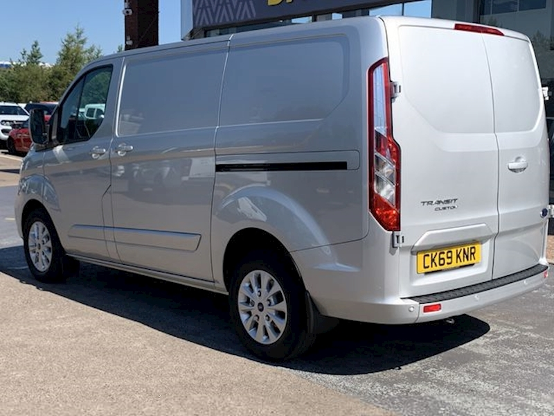 Ford Transit Custom Tdci 130ps Limited P/V L1 Swb with Air Con & Alloy Wheels 2.0 5dr Panel Van Manual Diesel