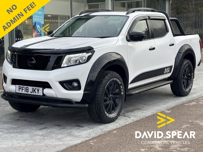 Nissan Navara DCI 190ps Black Edition Tekna 4x4 Dcb Pick Up With Sat Nav, Rev Cam & Roll Bar 2.3 4dr Pickup Automatic Diesel