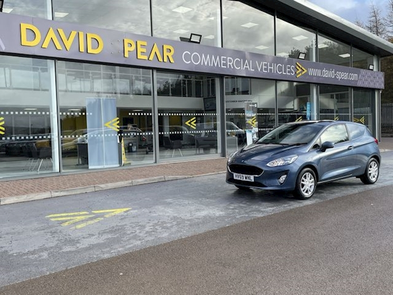 Ford Fiesta 85hp Trend  Petrol With Full Electric Pack and Front Fogs 1.1 3dr Car Derived Van Manual Petrol