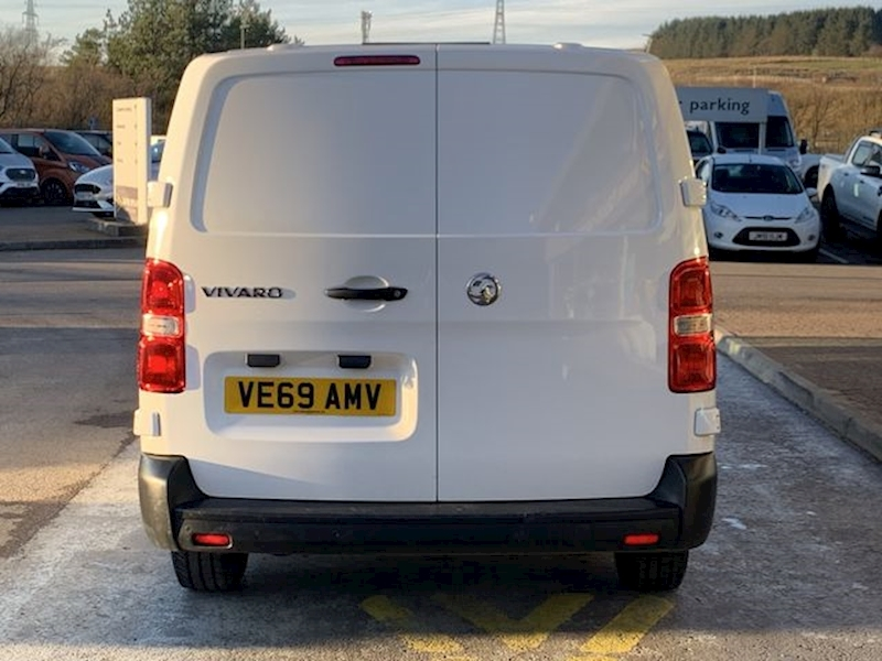 Vauxhall Vivaro CDTI 100ps Dynamic L2 H1 LWB 6 Speed With Air Con New Shape 1 Owner 1.5 6dr Panel Van Manual Diesel
