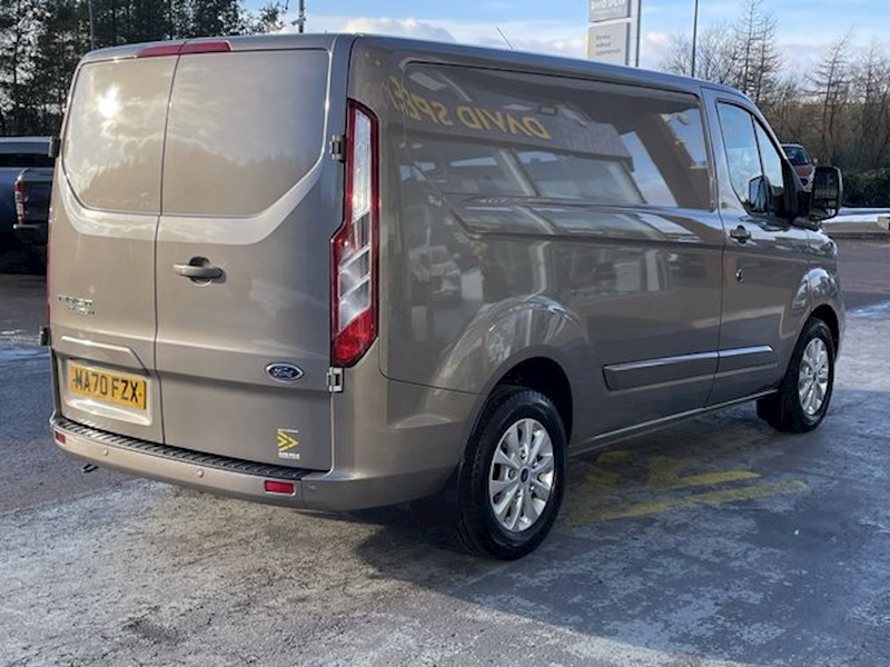 Ford Transit Custom TDCI 130ps Limited L1 H1 Swb 300 With Air Con & Alloy Wheels 2.0 5dr Panel Van Manual Diesel