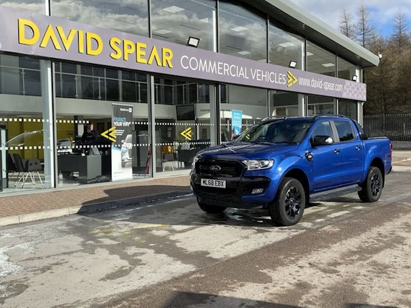 Ford Ranger TDCI 200ps Wildtrak X 4X4 Dcb Pick Up with NO VAT, Rollnlock Cover & Sat Nav 3.2 4dr Pickup Automatic Diesel