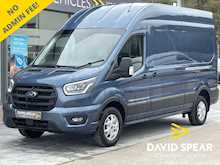 Ford Transit TDCI 185ps Limited Premium LWB High Roof L3 H3 With Sat Nav, Air Con & Alloys 2.0 5dr Panel Van Manual Diesel
